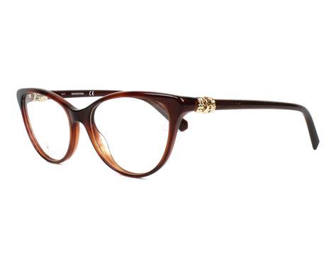 Terlaris Frame Lacoste 5244 1 swarovski eyeglasses sk 5244 052 brown visio net