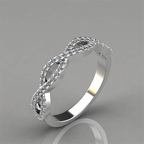 Wedding Ring Infinity Design by 0 24ct Infinity Design Wedding Band Ring Puregemsjewels