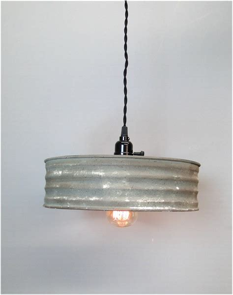 Light Fixture Cord Riddle Sifter Shape Vintage Style Pendant Light Fixture Metal And Rayon Cord The Bay
