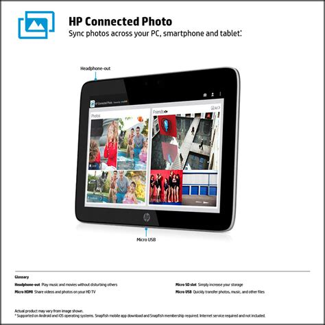 Tablet Hp 10 Inch hp slate 10 hd 3600us 10 inch tablet with beats audio free t mobile 4g tablet