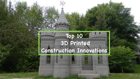 Tiny House Innovations top 10 3d printed construction innovations 3d printing