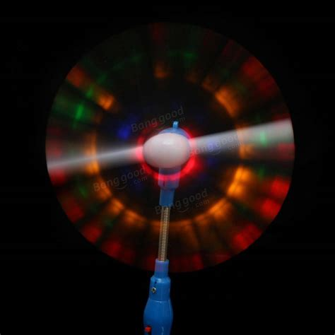 Mu Spinner Led Rainbow 5x light up led rainbow spinning windmill glows for present gift sale