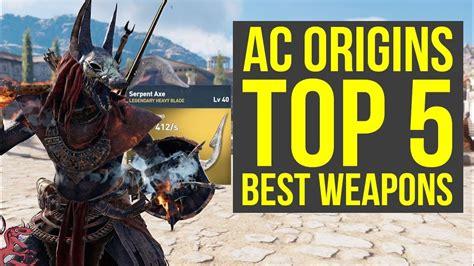 Origin Top assassin s creed origins best weapons top 5 most amazing