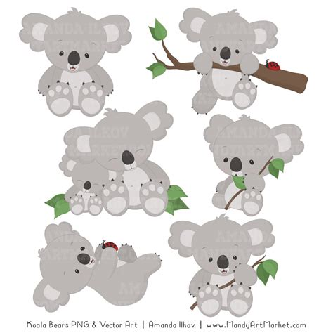 clipart koala koala clipart and patterns