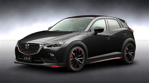 mazda cx3 custom mazda lifts the veil on tokyo auto salon bound concepts