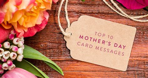 Mothers Day Card Messages top 10 mother s day card messages the gift exchange blog