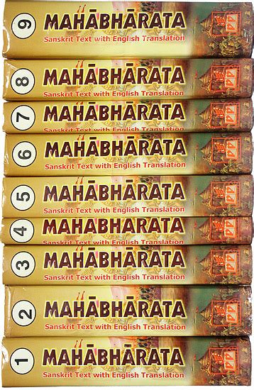 mahabharata picture book the complete mahabharata 9 volumes