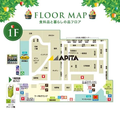 layout in yii 2 0 フロアガイド アピタ飯田店専門店街 公式サイト map ui pinterest map