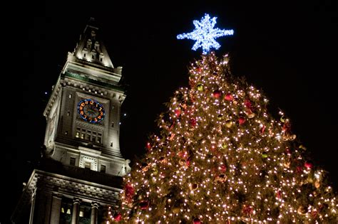 the kensington goes out boston s annual christmas tree