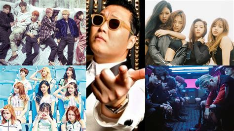 black pink dan exo youtube announces top 10 most watched k pop music videos