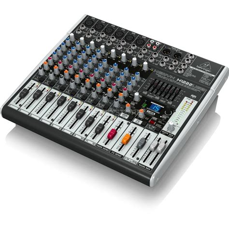 Mixer Audio Behringer 6 Channel behringer xenyx x1222usb 16 channel mixer with usb audio