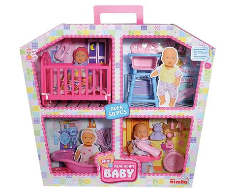 childs doll house mini new born baby doll house new born baby brands www simbatoys de