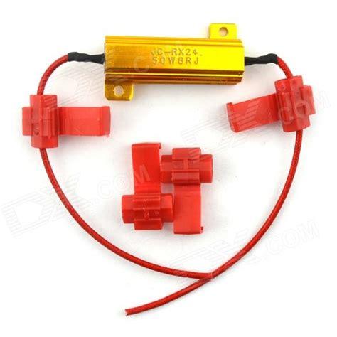 led resistor automotive jtron automotive led lights decoding resistor golden free shipping dealextreme