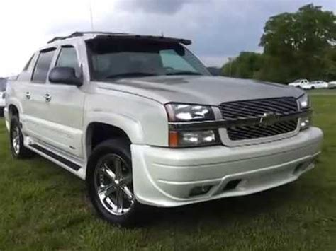 southern comfort avalanche for sale sold 2004 chevrolet avalanche 4x4 southern comfort