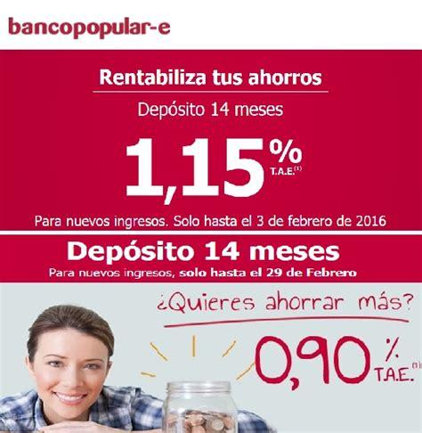 deposito plazo fijo banco popular vivus es dinero al momento blog