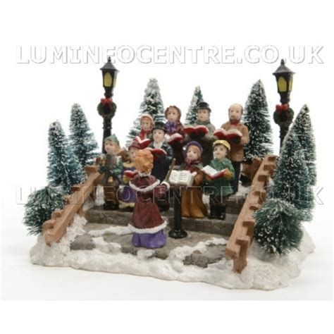 lumineo miniature carol singing figure