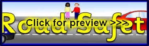printable road safety banner road safety primary teaching resources printables