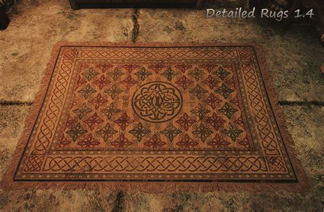 rug pack detailed rugs at skyrim special edition nexus mods and community