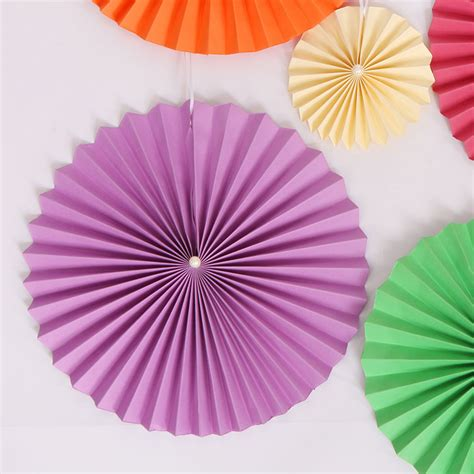 Origami Paper Fan - wedding decoration paper flower origami flower fan 25cm