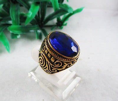 Jumsuit Cincin jual cincin akik pria cowok ring ikat cangklong cangkang kokot cangkok emban titanium gold batu
