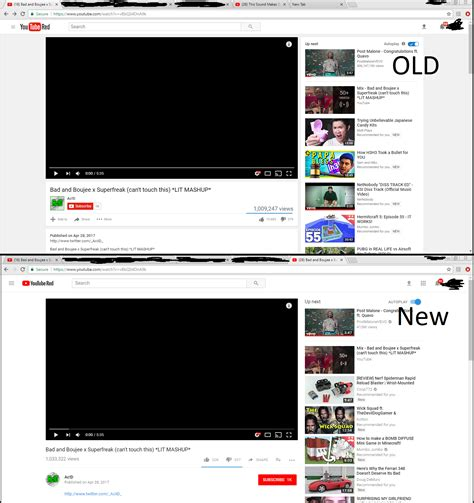old youtube layout plugin quot restore old youtube quot button missing digital spy