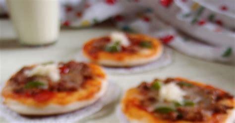 cara membuat pizza no oven cara membuat resep pizza mini sederhana tanpa oven happy