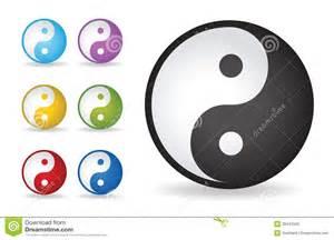 colorful yin yang yin yang vector illustration stock vector image 39441045