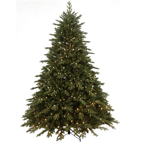 sears roebuck prelit christmas tree sears roebuck and co 7 5 spruce with 800 dual color led lights