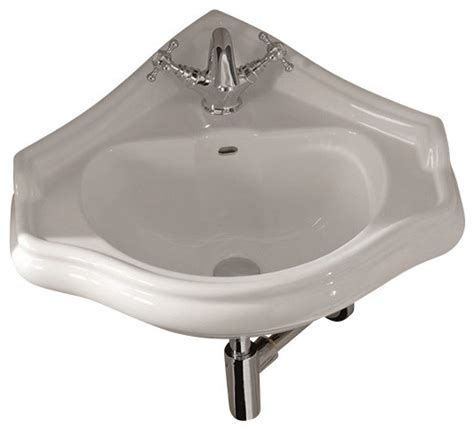 Corner Faucet by Ws Bath Collections Retro Corner Sink With One Faucet