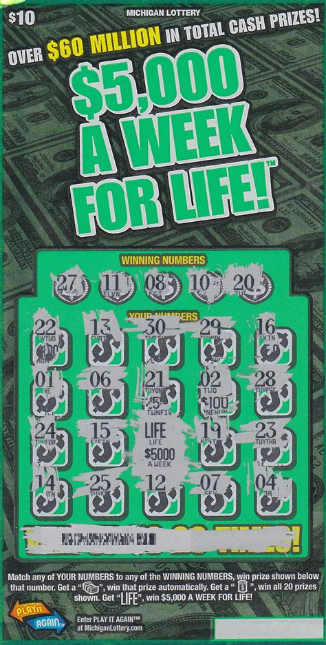 Winner Of 5000 A Week For Life From Pch - bay county woman wins 5 000 a week for life from the michigan lottery michigan