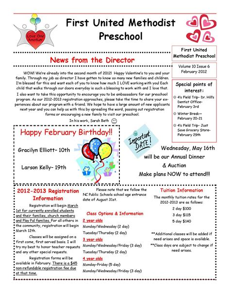 preschool newsletter blue shapes preschool newsletter december preschool newsletter editable