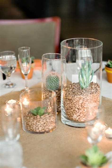 centerpieces for weddings cheap – Reception Decor on a Budget   Temple Square