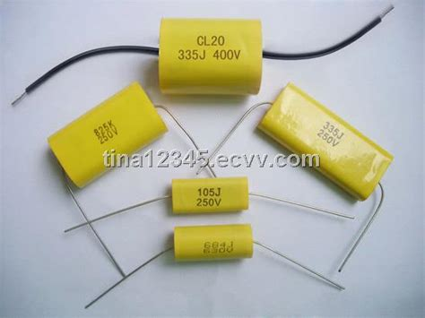 metallized polyester capacitors axial shape cl20 mea met purchasing souring ecvv