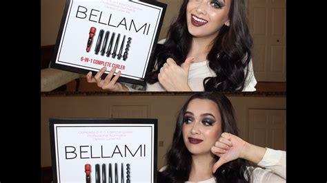 bellami 6 in 1 reviews honest review bellami 6 in 1 complete curler set youtube