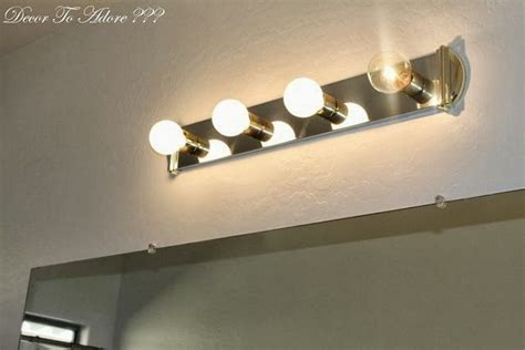 remove bathroom light fixture how to remove ugly bathroom lighting and live to tell
