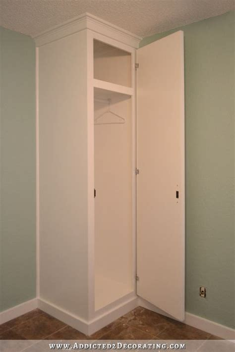 Built In Closet Diy by Diy How To Build Cabinet Style Closets To Flank Your Bed