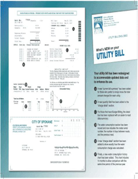 utility bill template utility bill fill printable fillable