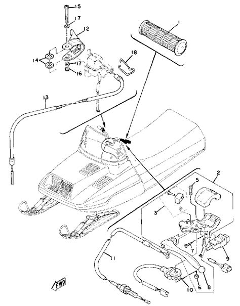 79 yamaha enticer snowmobile wireing diagram enticer