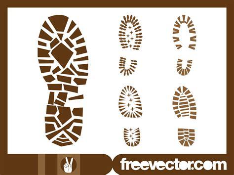 running shoe print vector shoe print graphics vector graphics freevector
