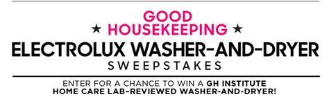 Goodhousekeeping Sweepstakes - goodhousekeeping electrolux sweepstakes 2016