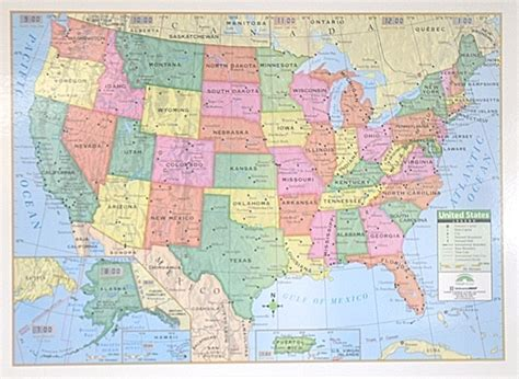 simple usa map usa simple laminated rolled map 40x28 kappa map