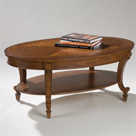 or oval coffee tables magnussen t1052 aidan wood oval coffee table coffee