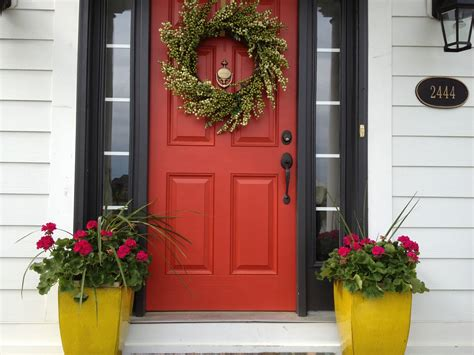 red front door sherwin williams antique red home house envy quot shut the front door quot these will blow your