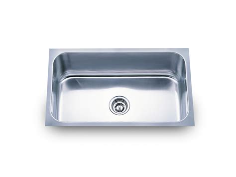 single bowl kitchen sink undermount big single bowl kitchen sink ks319 30x18 kpaxinc