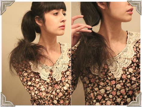 tutorial memakai sanggul pramugari tutorial membuat sanggul cantik retro rambut sendiri 2014
