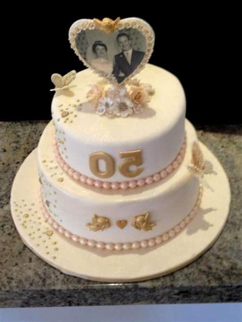 Wedding Anniversary Design Ideas by Golden Wedding Anniversary Cake Ideas Idea In 2017