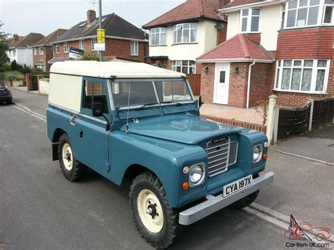 1982 land rover 88 quot 4 cyl blue
