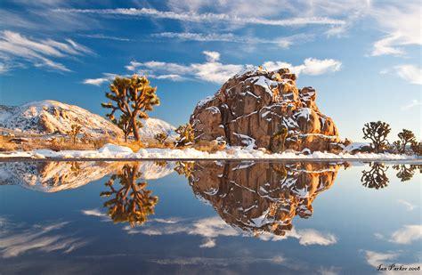 hidden valley christmas lights snow in joshua tree national park california 1920x1080