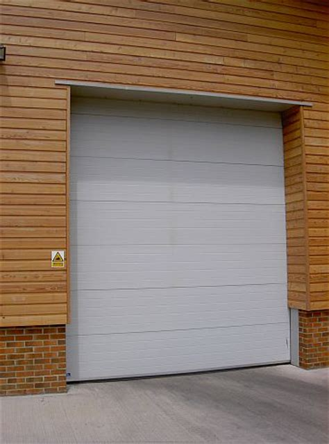 insulated sectional overhead doors cobra 610 insulated sectional overhead door