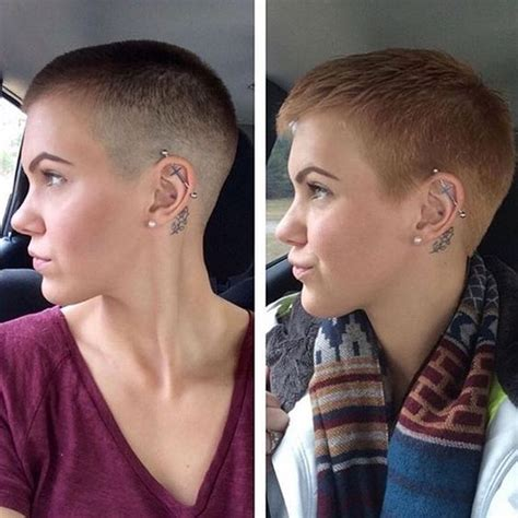 long to buzz haircut videos hot to grow out a buzz cut google search hair goals